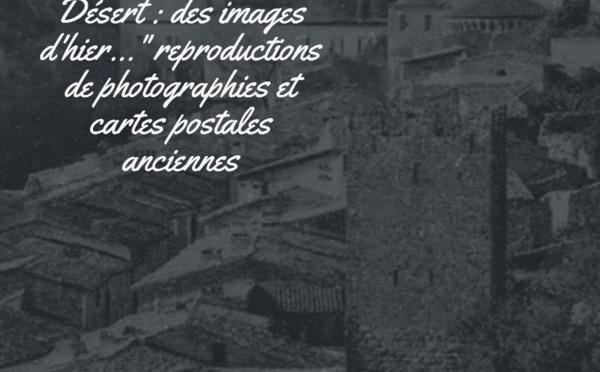 Photographies et cartes postales anciennes du village de Saint-Guilhem-le-Desert