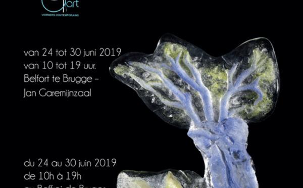 VERRE CONTEMPORAIN Exposition  Dare d'Art à BRUGES