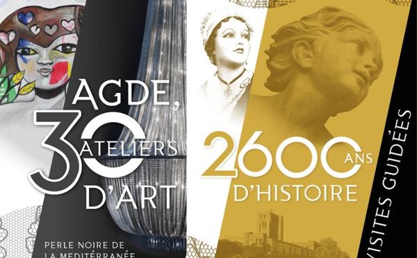 """Visites guidées """"Patrimoine - Ateliers et Galerie de la Perle Noire - Agde"""""""