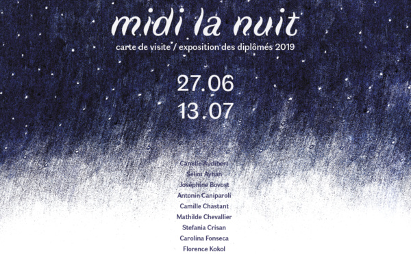 Midi la nuit - exposition des artistes diplômés de l'ESAL -Metz