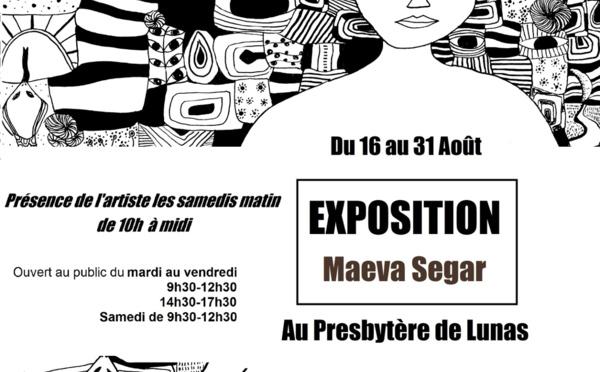 Exposition à LUNAS - Maeva SEGAR