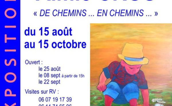 Exposition au Domaine de la Tour à Nébian
