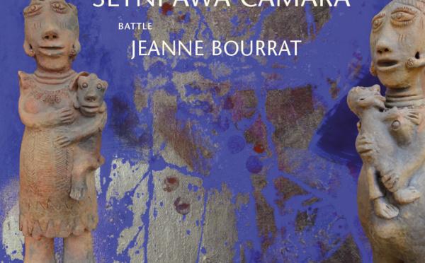 « L'Été du Petit Temple » : ANNE BATAÎ (Peinture) - SEYNI AWA CAMARA (Sculpture) - JEANNE BOURRAT (battle)