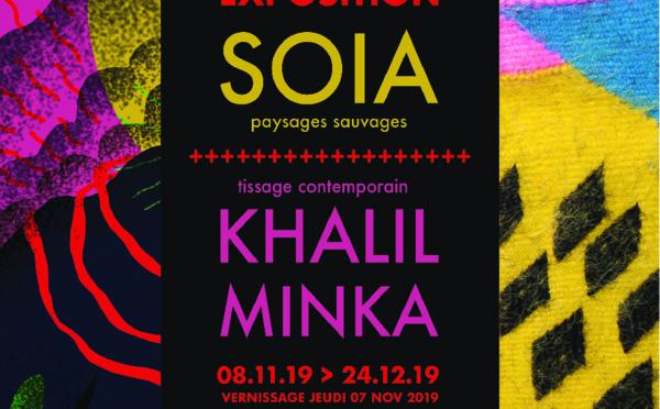 Exposition Khalil Minka et SOIA - Atelier EAC du Quai des arts - Toulouse