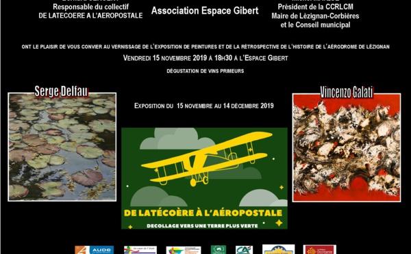 l'histoire de l'aérodrome de Lézignan - ESPACE GIBERT