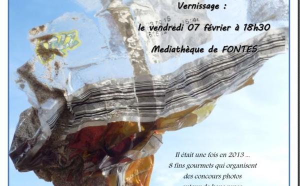 Photos exposées à la Médiathèque de Fontès