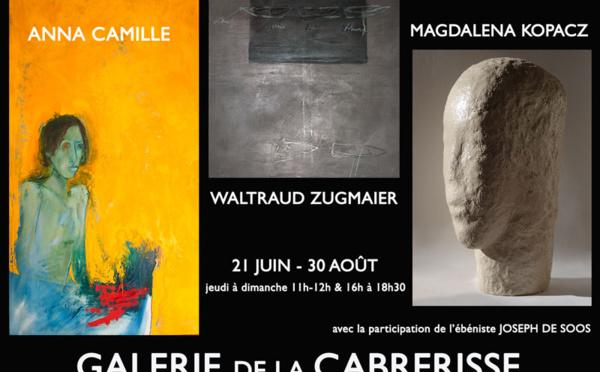 Exposition avec Zugmaier, Kopacz, Camille et de Soos - St. Laurent de la Cabrerisse