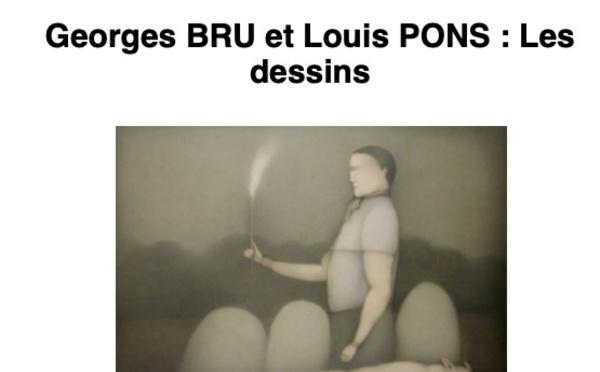 Polysémie : exposition G Bru et L Pons - Marseilles