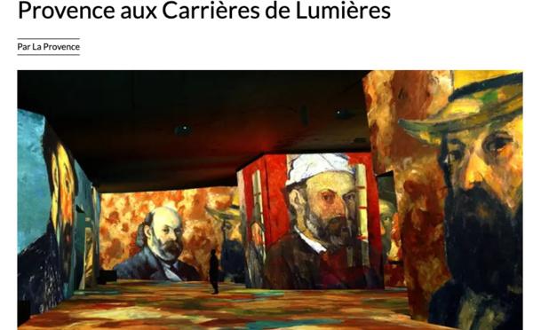 Baux-de-Provence : Cézanne, maître de la Provence aux Carrières de Lumières