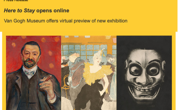 Exhitbition 'Here to Stay' opens online
