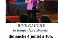 Reprise à La Volta le 4 juillet : Rive Gauche !